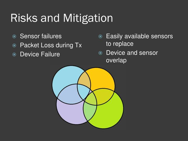 Risks and Mitigation
