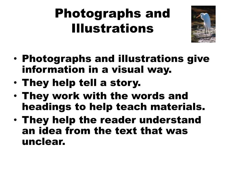 Photographs and Illustrations