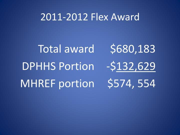 2011-2012 Flex Award