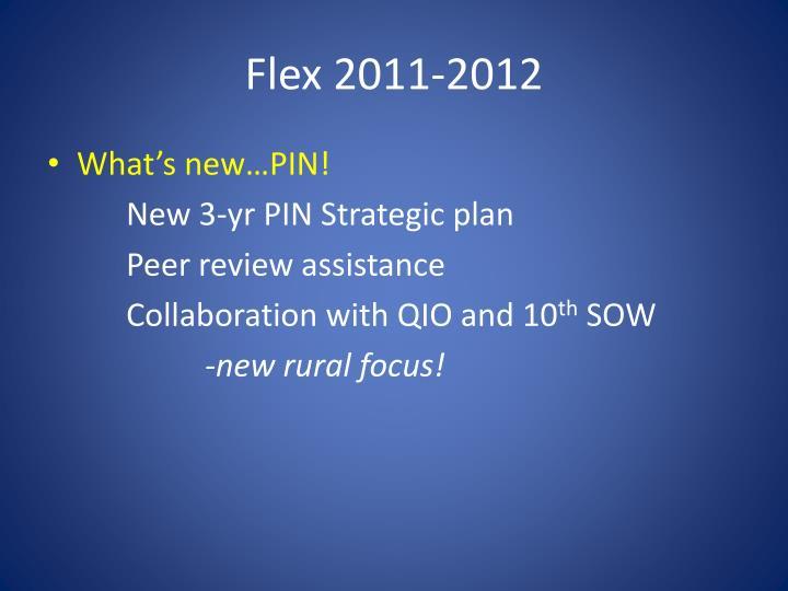 Flex 2011-2012