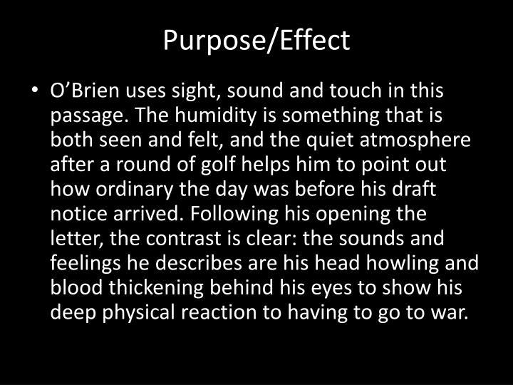 Purpose/Effect