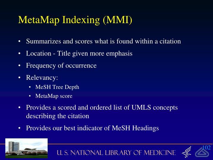 MetaMap