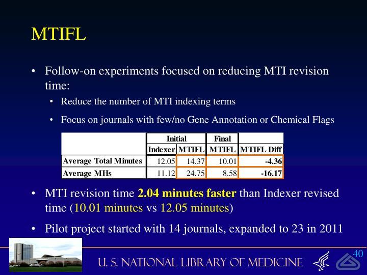 MTIFL