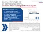 aumento de recursos para los municipios1