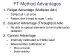 ft method advantages