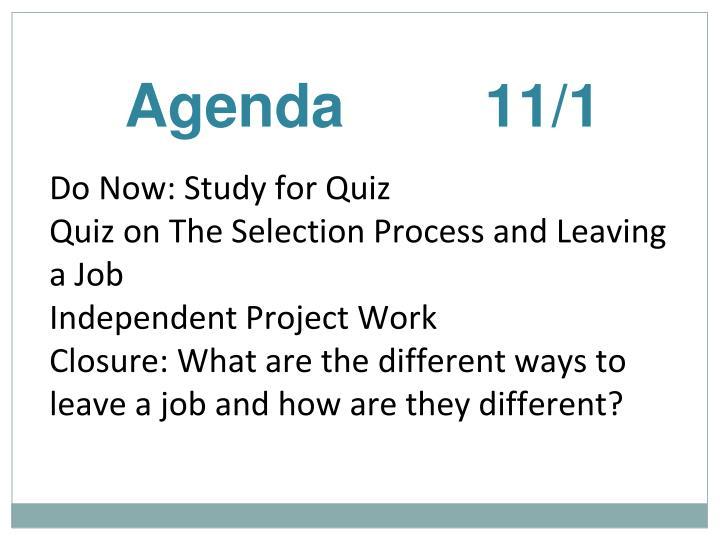 Agenda11/1
