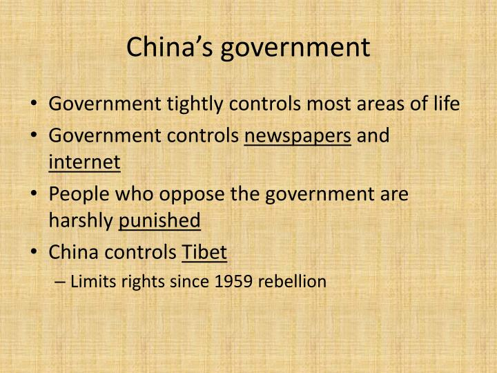 China's government