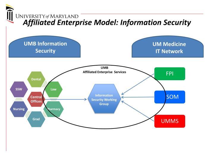 Affiliated Enterprise Model: