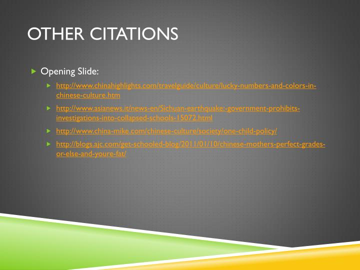 Other Citations