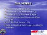amp offers