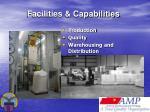 facilities capabilities