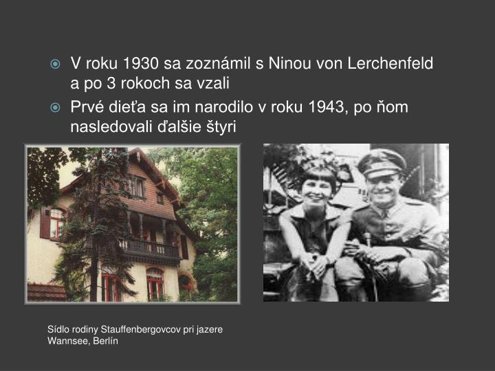 V roku 1930 sa zoznámil s