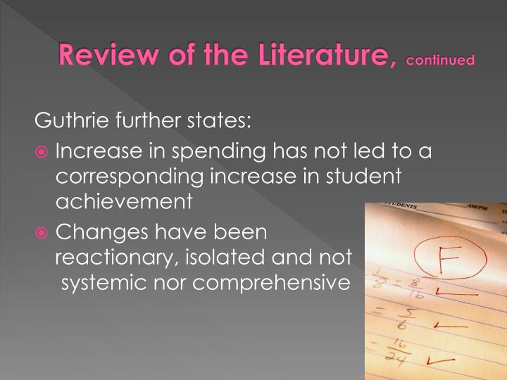 Review of the Literature,