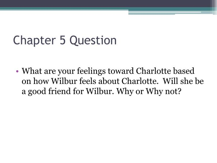 Chapter 5 Question