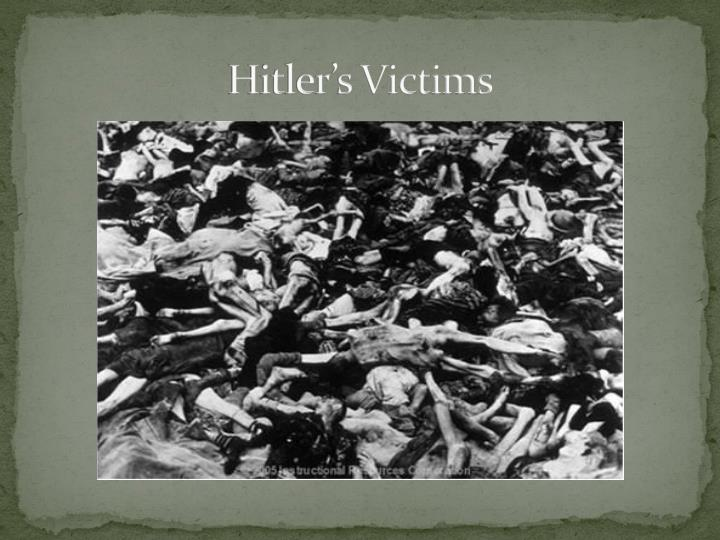 Hitler's Victims