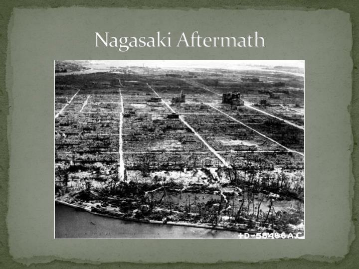 Nagasaki Aftermath