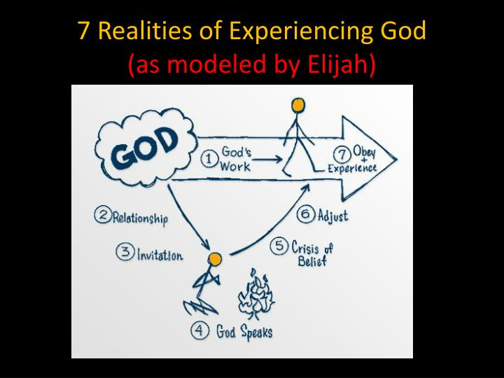 7 Realities of Experiencing God