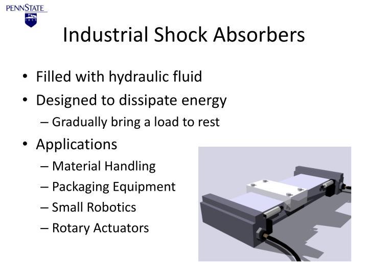 Industrial Shock Absorbers