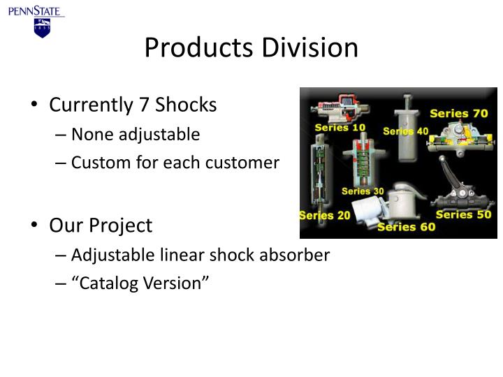 Products Division
