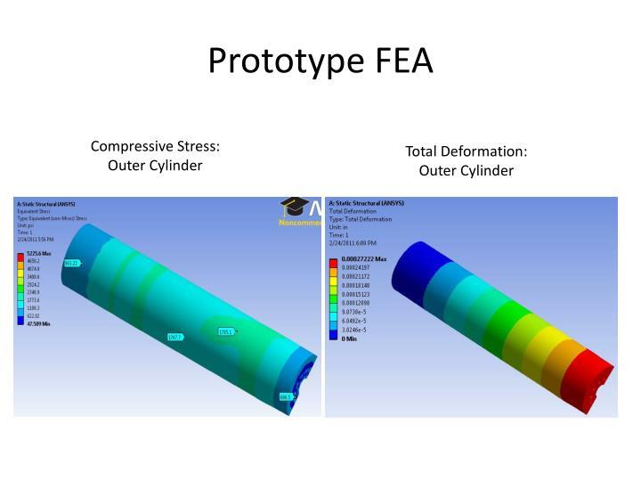 Prototype FEA