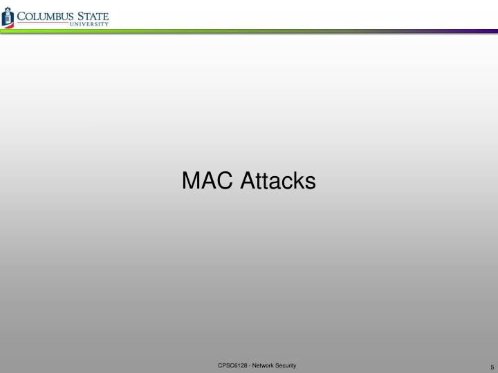 MAC Attacks