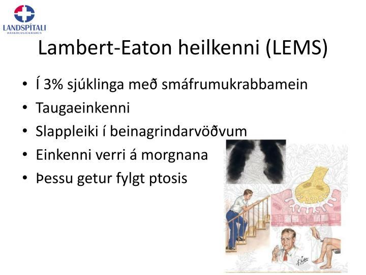 Lambert-Eaton