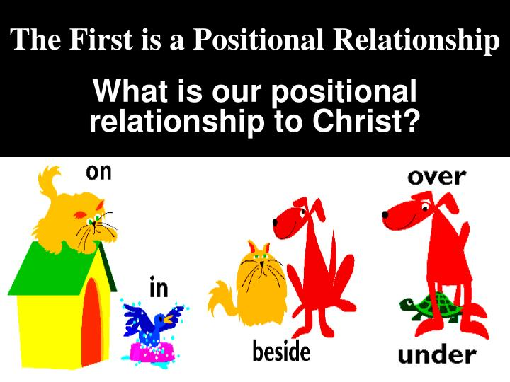What is our positional relationship to Christ?