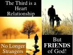 the third is a heart relationship