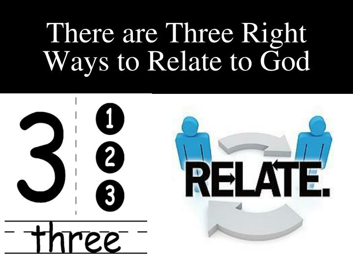 There are Three Right