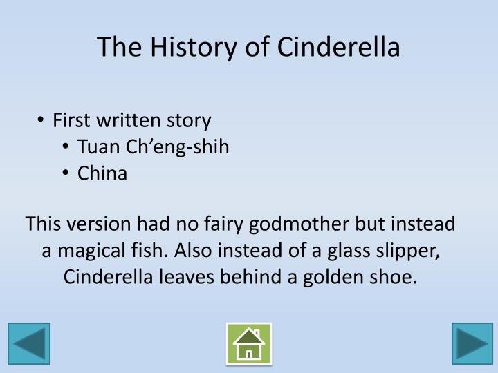 The History of Cinderella