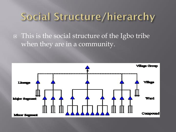 Social Structure/hierarchy