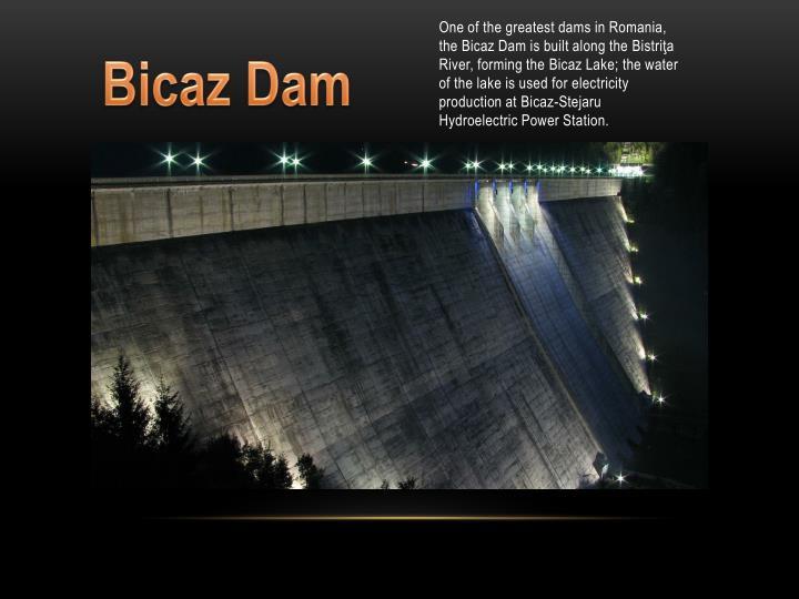 Bicaz Dam