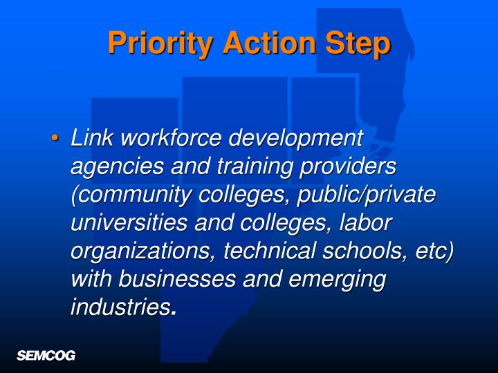 Priority Action Step