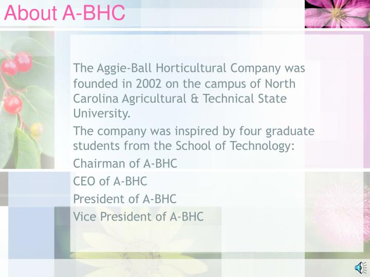 About A-BHC