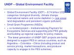 undp global environment facility