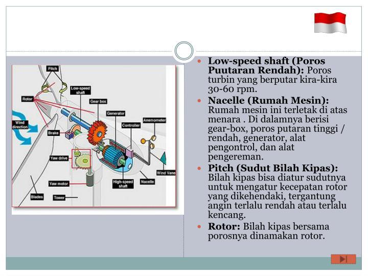Low-speed shaft (