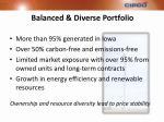 balanced diverse portfolio