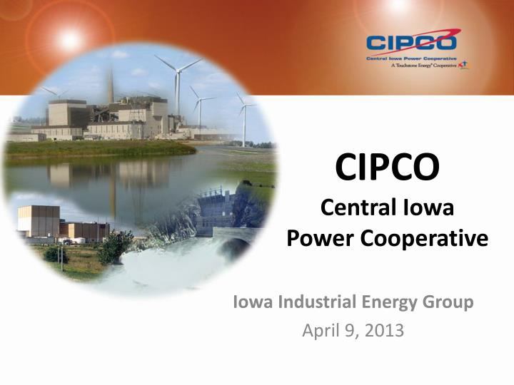 Cipco central iowa power cooperative