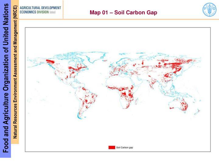 Map 01 – Soil Carbon Gap
