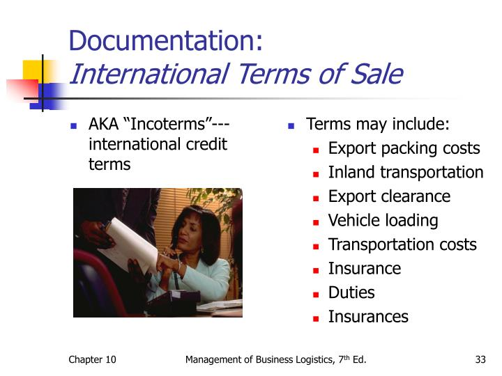 "AKA ""Incoterms""--- international credit terms"