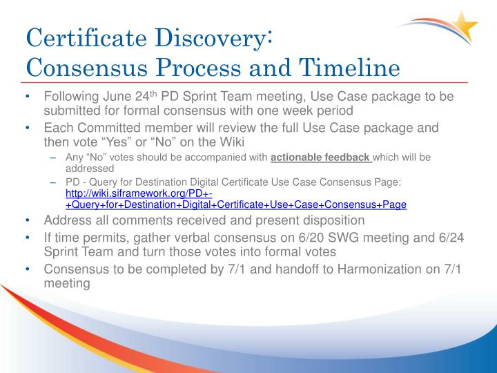 Certificate Discovery: