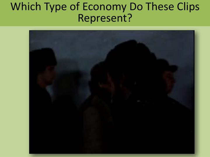 Which Type of Economy Do