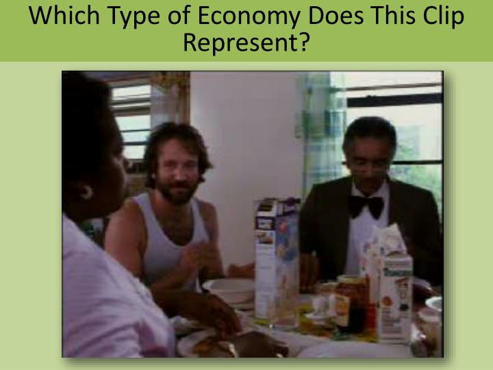 Which Type of Economy Does