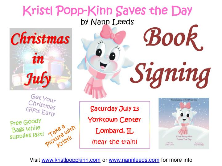 Kristl Popp-Kinn Saves the Day