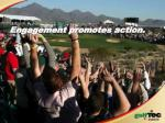 engagement promotes action