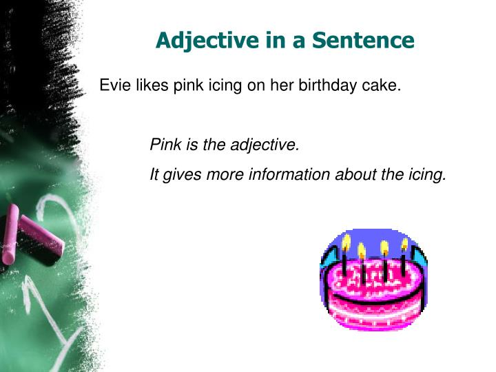 Adjective in a Sentence