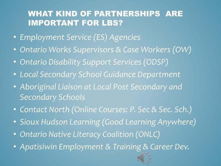 Employment Service (ES) Agencies