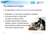 the reflective project