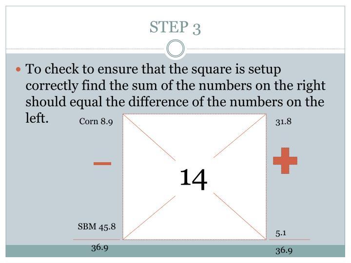 STEP 3