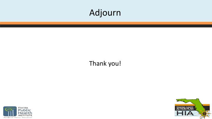 Adjourn